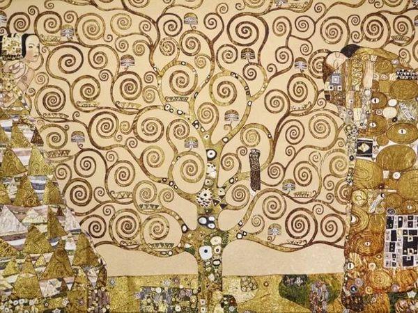 Наконец-то полное ДРЕВО ЖИЗНИ Густава Климта в компактном размере 70-105 см   Ярмарка Мастеров - ручная работа, handmade
