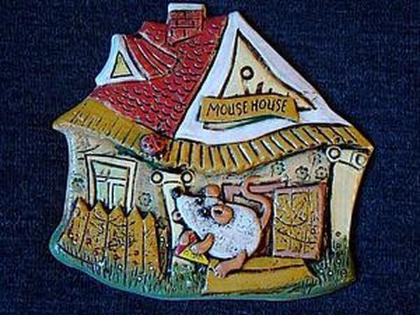 Лепка керамического декоративного панно