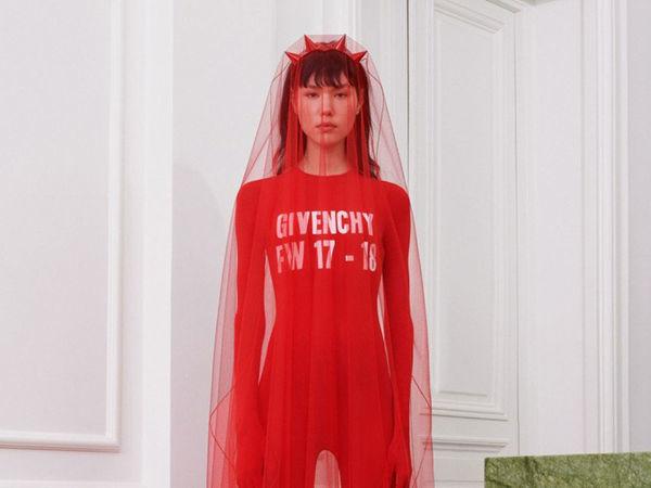 PRE-красная коллекция от Riccardo Tisci для Givenchy   Ярмарка Мастеров - ручная работа, handmade