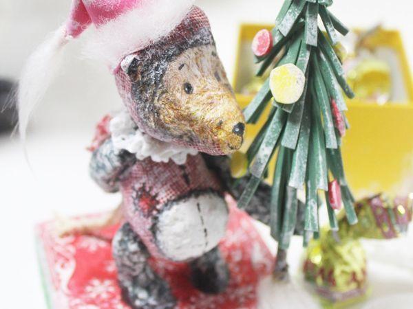 Мастер-класс по оформлению новогоднего подарка | Ярмарка Мастеров - ручная работа, handmade