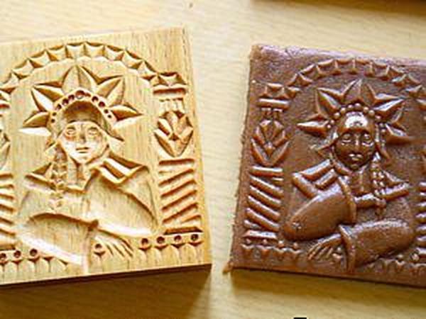 Делаем форму для печатного печенья