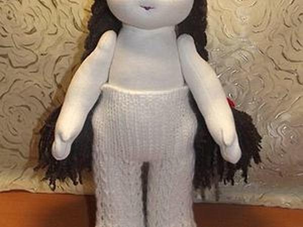 Вязаные колготки для вальдорфской куклы.   Ярмарка Мастеров - ручная работа, handmade
