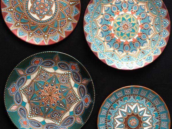 Видео мастер-класс: как сделать надежный подвес для керамической тарелки | Ярмарка Мастеров - ручная работа, handmade