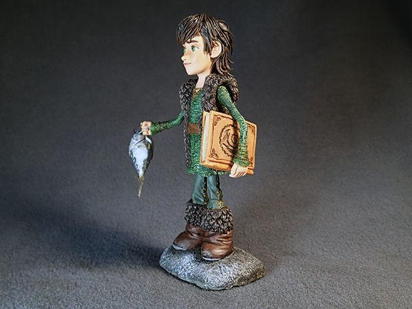 Лепим Икинга из мультфильма «Как приручить дракона» | Ярмарка Мастеров - ручная работа, handmade