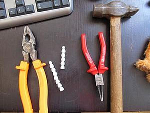Как соединить скелет (Lockline) для мишек тедди   Ярмарка Мастеров - ручная работа, handmade
