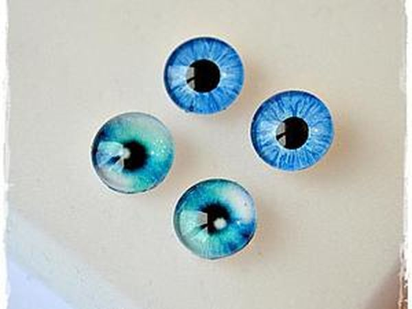 Glass Eyes for Toys with Your Own Hands   Livemaster - handmade