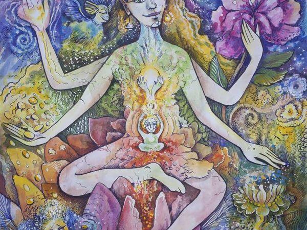 Мир внутри нас | Ярмарка Мастеров - ручная работа, handmade