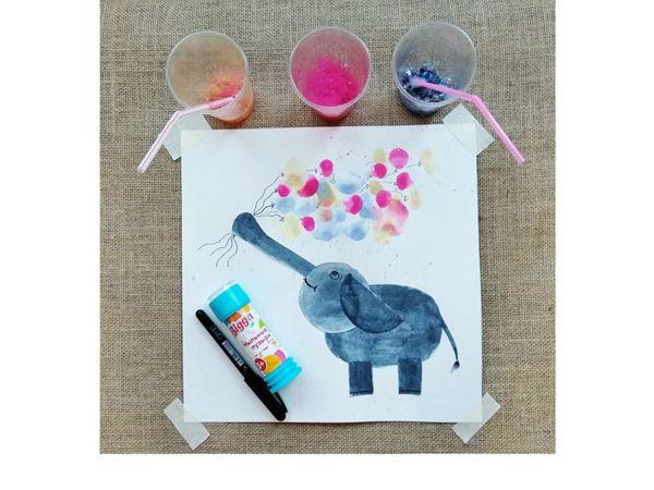 Рисуем мыльными пузырями вместе с детьми   Ярмарка Мастеров - ручная работа, handmade