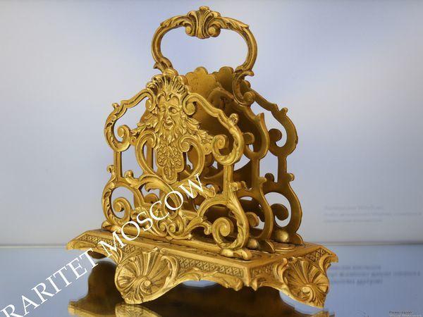 Раритетище Салфетница бронза Depose Франция 14 | Ярмарка Мастеров - ручная работа, handmade
