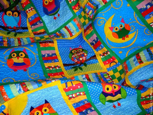 Уютный пэчворк для детей:)   Ярмарка Мастеров - ручная работа, handmade