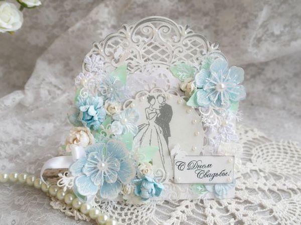 Свадебная открытка конверт   Ярмарка Мастеров - ручная работа, handmade