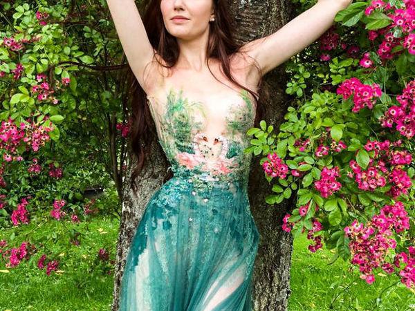 Удивительные платья французского дизайнера и модельера Sylvie Facon | Ярмарка Мастеров - ручная работа, handmade