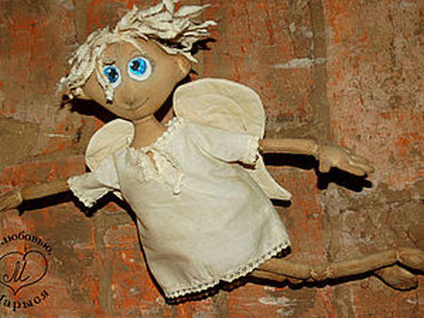 Мастер-класс для новичков: чердачная кукла-ангел Макарка. Часть вторая: делаем ручки и ножки | Ярмарка Мастеров - ручная работа, handmade