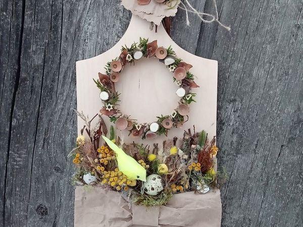 Композиция  «Весенние хлопоты»  в коллекции  «Призываем весну» | Ярмарка Мастеров - ручная работа, handmade