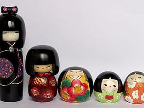 Японская традиционная кукла. Играют ли ею? | Ярмарка Мастеров - ручная работа, handmade