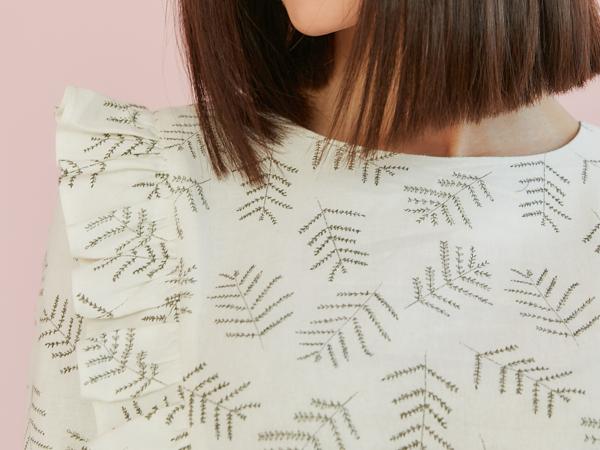 Обзор льняного платья с рюшами   Ярмарка Мастеров - ручная работа, handmade