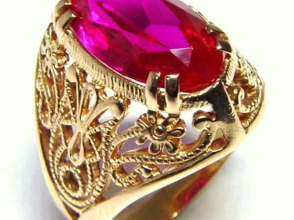 Определение натуральности камней в золотых изделиях периода СССР   Ярмарка Мастеров - ручная работа, handmade