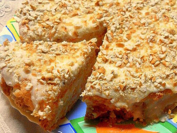Домашний морковно-сметанный торт. Объедение!   Ярмарка Мастеров - ручная работа, handmade