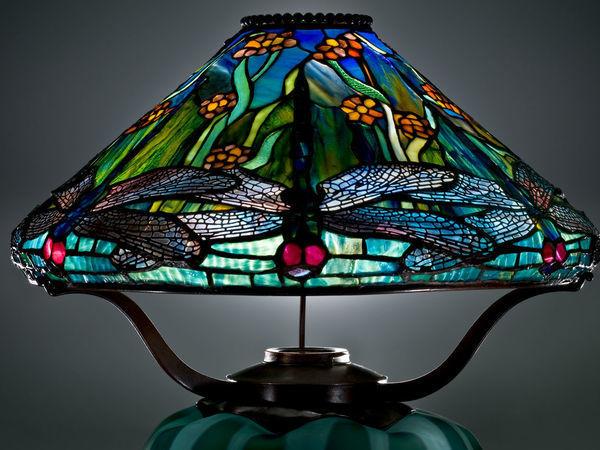 Шикарные светильники от Louis Comfort Tiffany | Ярмарка Мастеров - ручная работа, handmade