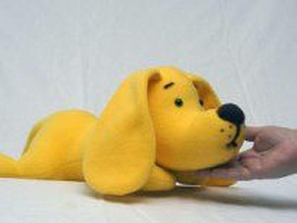 Желтый пёс ищет дом! | Ярмарка Мастеров - ручная работа, handmade