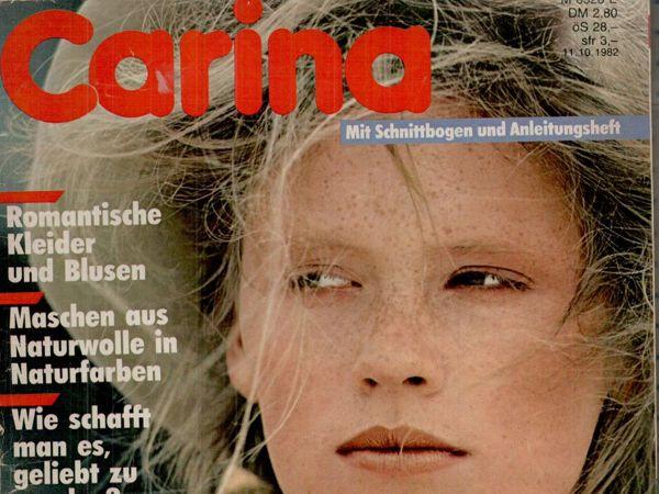 Carina Burda 10 1982 (октябрь) | Ярмарка Мастеров - ручная работа, handmade