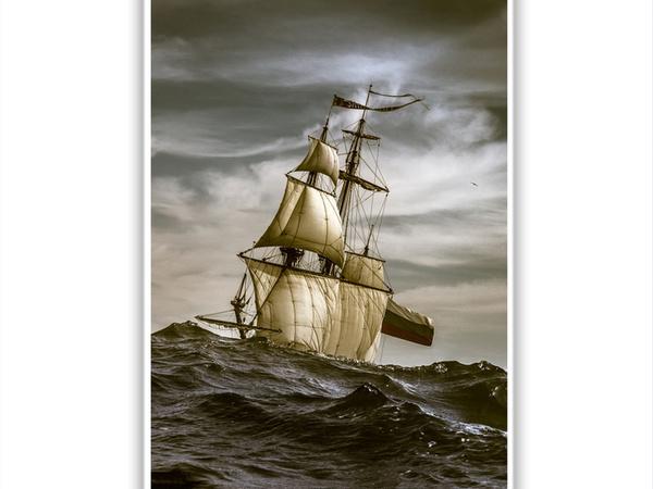 Штандарт в Атлантике. | Ярмарка Мастеров - ручная работа, handmade