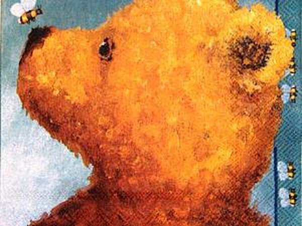 Салфетки Мишки Asger и Disney Vinni Pooh | Ярмарка Мастеров - ручная работа, handmade