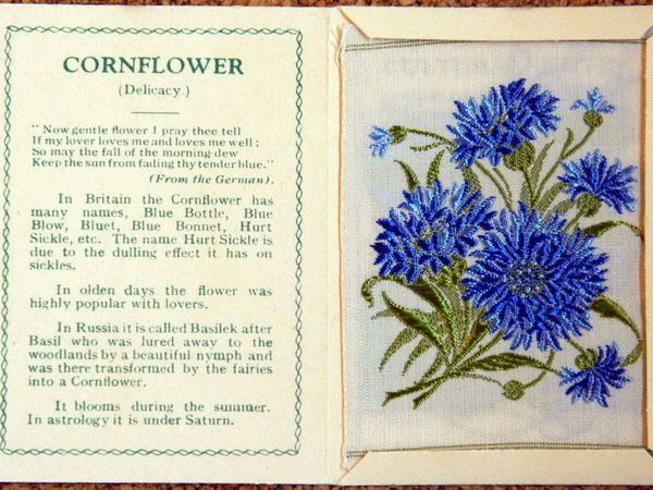 Embroidered Flowers — Advertising Packages of the 1930s and Design Ideas | Livemaster - handmade