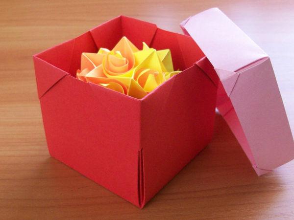 Как быстро делать коробочки для подарков нужных размеров | Ярмарка Мастеров - ручная работа, handmade