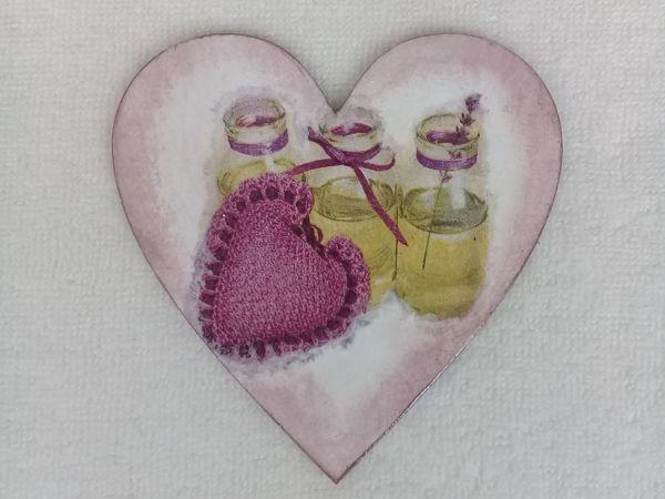 Мастер-класс по декупажу для начинающих  «Сердечко для мамы»   Ярмарка Мастеров - ручная работа, handmade