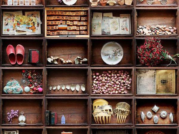 Коллекционируем красиво: 40+ впечатляющих полок для хранения коллекций   Ярмарка Мастеров - ручная работа, handmade