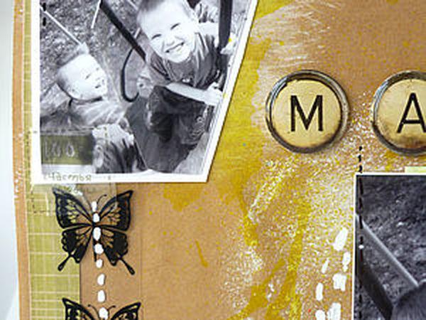 Страничка мальчиковская-крафт | Ярмарка Мастеров - ручная работа, handmade