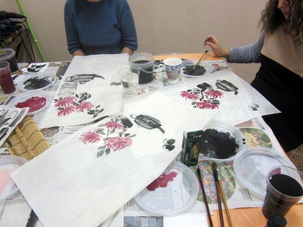 Про чай, хризантемы и МК по китайской живописи) | Ярмарка Мастеров - ручная работа, handmade