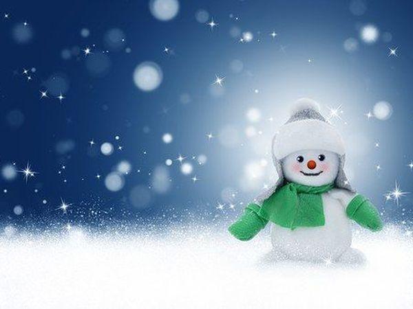 Вебинар: Рисуем губкой.Снеговик | Ярмарка Мастеров - ручная работа, handmade