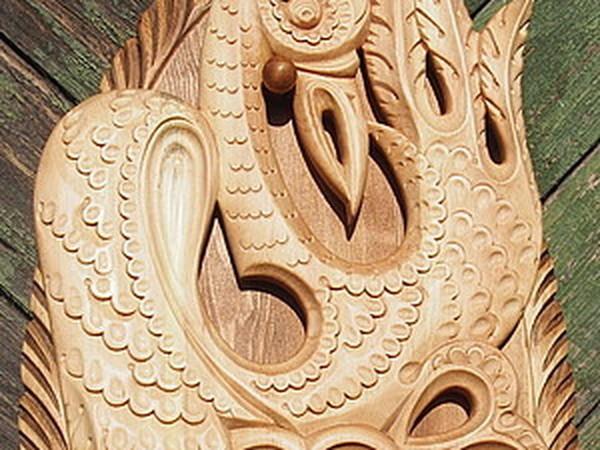 Создаем резное деревянное панно с журавлем «Крылья растут из сердца» | Ярмарка Мастеров - ручная работа, handmade