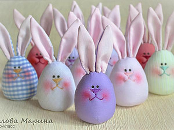 Пасхальные яйца — веселые зайцы | Ярмарка Мастеров - ручная работа, handmade