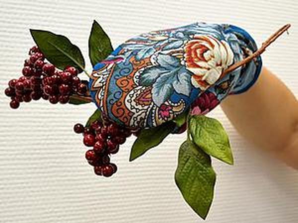 Шьем рукавички в русском стиле   Ярмарка Мастеров - ручная работа, handmade