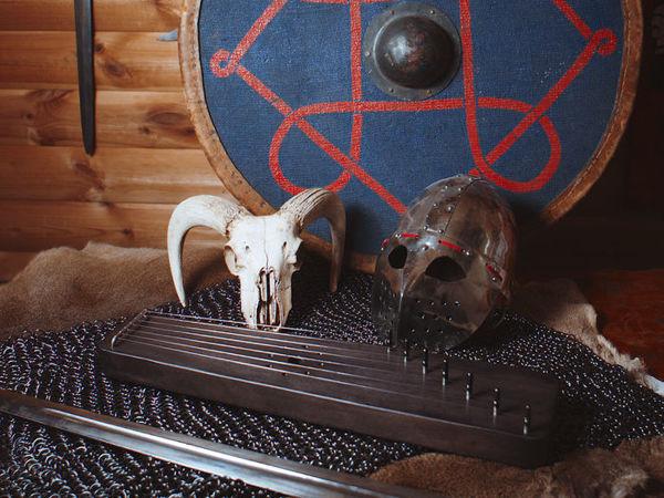 Гусли — музыкальный инструмент Русского воина   Ярмарка Мастеров - ручная работа, handmade