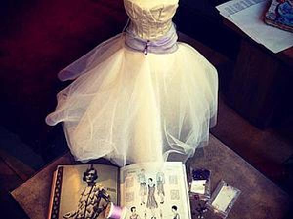 Макет «haute couture»: пошив экспериментального образца вечернего платья | Ярмарка Мастеров - ручная работа, handmade