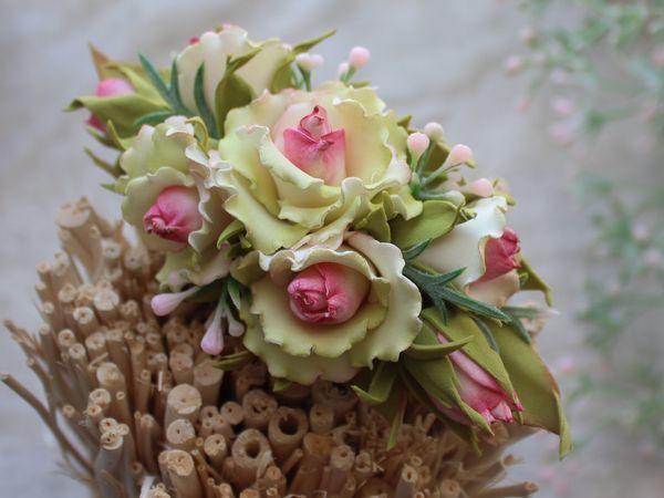 Создаем цветочную  заколку из фоамирана | Ярмарка Мастеров - ручная работа, handmade