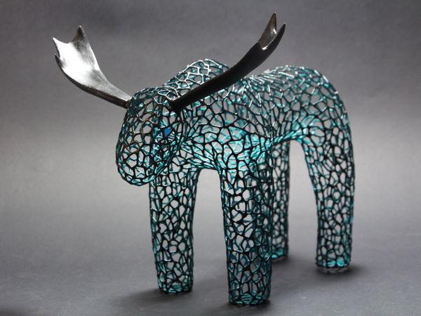 Арт для дома «Фигура Лось»   Ярмарка Мастеров - ручная работа, handmade