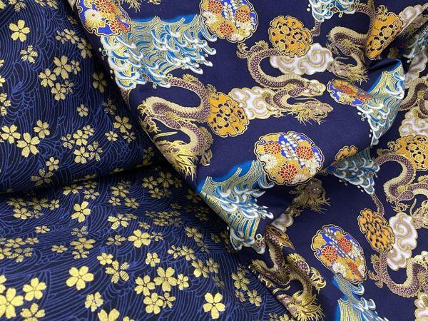Красивейший хлопок в японском стиле | Ярмарка Мастеров - ручная работа, handmade