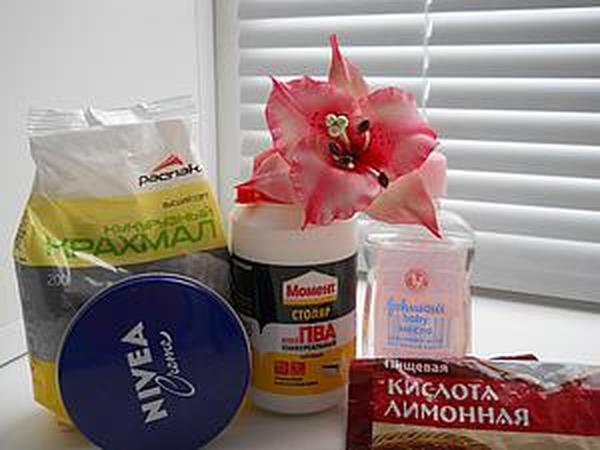 Простой и доступный рецепт холодного фарфора, который получается всегда   Ярмарка Мастеров - ручная работа, handmade