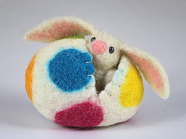 Из биографии пасхального зайца | Ярмарка Мастеров - ручная работа, handmade