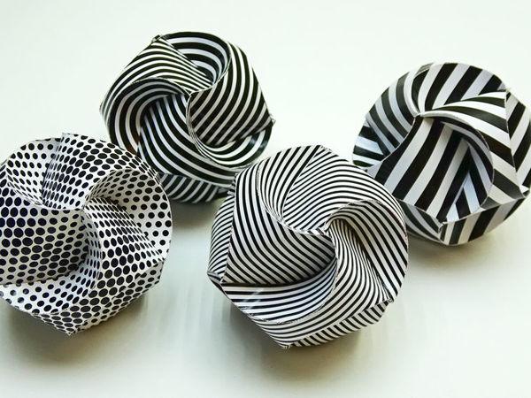 Делаем красивые шары из бумаги: видео мастер-класс | Ярмарка Мастеров - ручная работа, handmade
