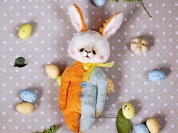 Пасхальные зайцы-кролики | Ярмарка Мастеров - ручная работа, handmade