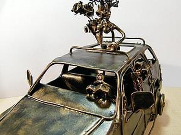 Делаем объемную модель «Шевроле Тахо» с влюбленной парой | Ярмарка Мастеров - ручная работа, handmade