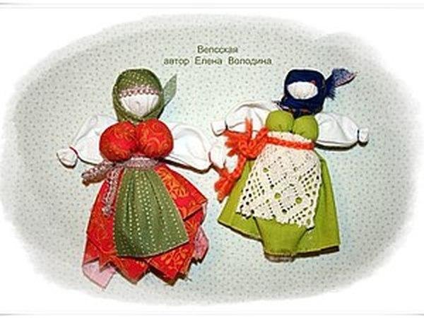 Мастер-класс по изготовлению Вепсской народной куклы | Ярмарка Мастеров - ручная работа, handmade