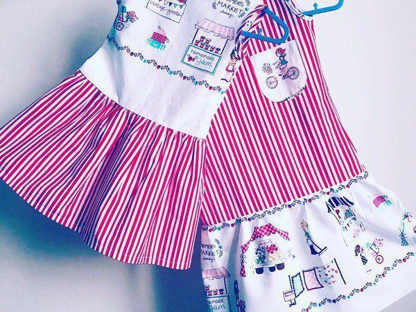 Видео мастер-класс: шьем детское платье   Ярмарка Мастеров - ручная работа, handmade