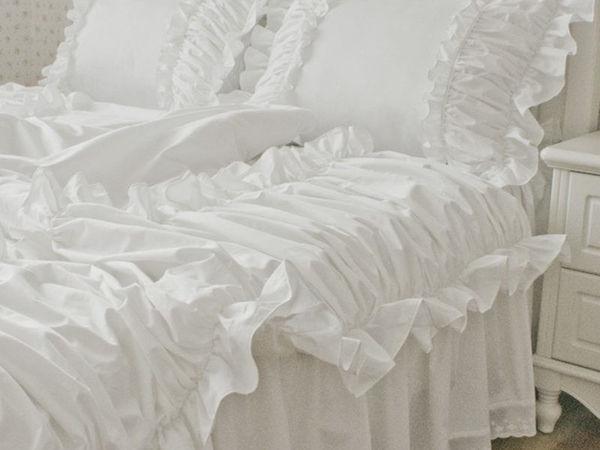 Постельное белье в стиле шебби шик. Дизайн